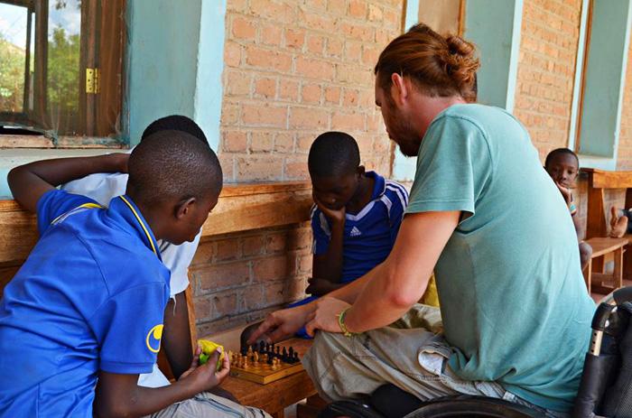 Anamarija Šuran i Filip Marić volonteri u Africi, sirotište Sv. Ante, Tanzanija