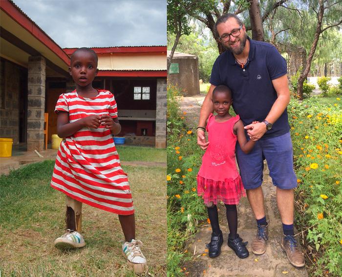 Jane Nyambura i Fra Miro Babić, Mali dom Kenija, Afrika
