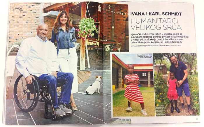 Ivana i Karl Schmidt, Mali dom