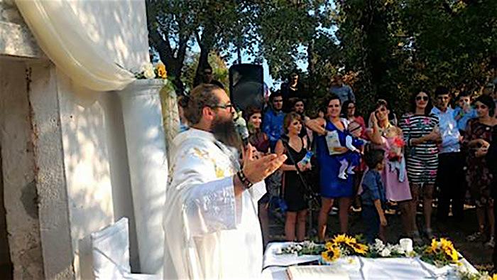Anamarija i Filip Marić, vjenčanje volontera iz Afrike, fra Miro Babić