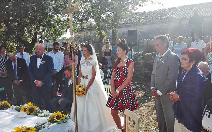 Anamarija i Filip Marić, vjenčanje volontera iz Afrike