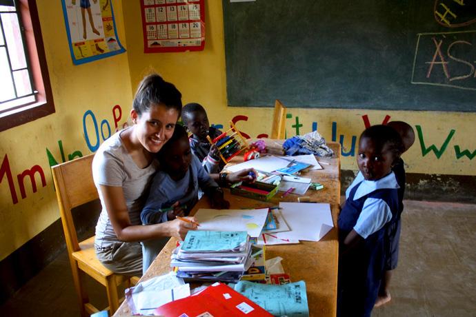 Misija u Africi, Kenija, Subukija, sirotište Mali dom, Monika Pešorda
