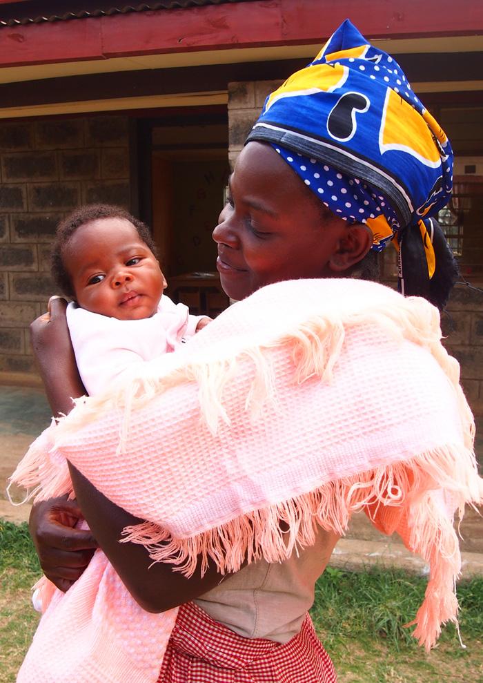 Mama Louise, sirotište Mali dom, misija fra Mire Babića u Africi